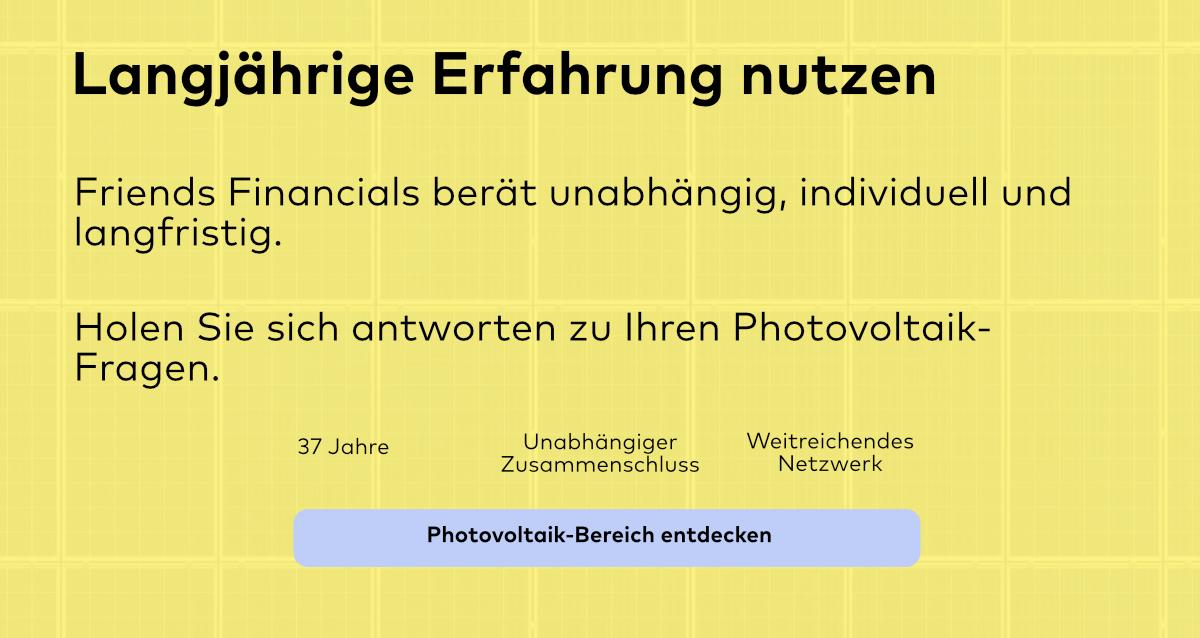 Geld mit Photovoltaik verdienen. Tipps und Beratung von Finanzexperten.